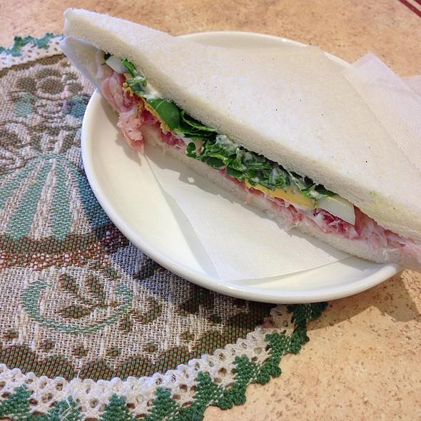 Tramezzino W/ Egg, Ham & Rucola - Cafe Murano, Altamonte Springs, FL