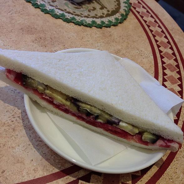 Tramezzino W/ Prosciutto & Aubergine - Cafe Murano, Altamonte Springs, FL
