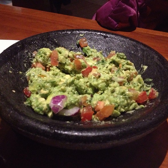 Fresh Guacamole - Cantina Laredo, London