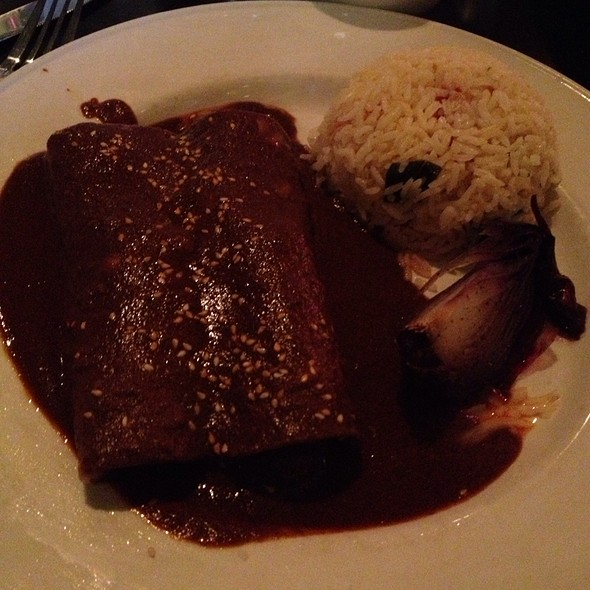 Enchiladas Mole With Pork - Manuel's Great Hills, Austin, TX