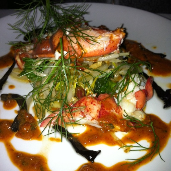 Lobster - erbaluce, Boston, MA