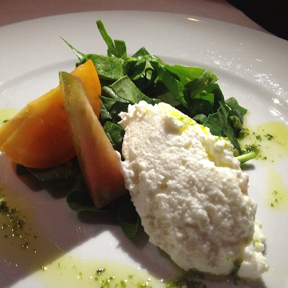 House Made Ricotta Cheese & Heirloom Tomatoes - Il Piatto, Santa Fe, NM