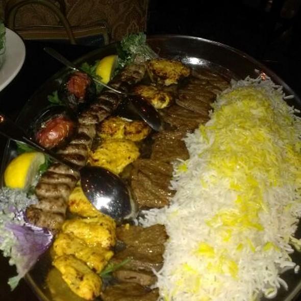Lamb, Steak and Chicken Platter - Persian Room, Scottsdale, AZ
