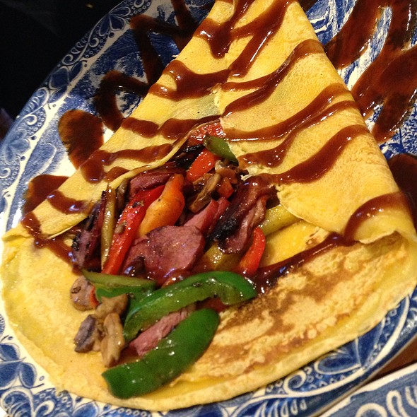 Smoked Duck Pancake - My Old Dutch - Holborn, London