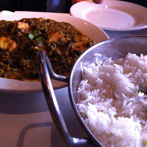Sag Paneer - Bombay Exotic Cuisine of India, San Diego, CA