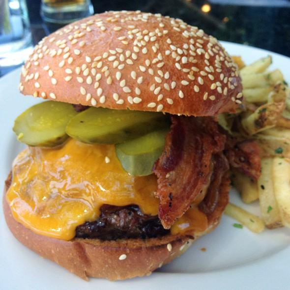 Rustic Tavern Burger (Bbq Bacon Cheeseburger) - Rustic Tavern, Lafayette, CA