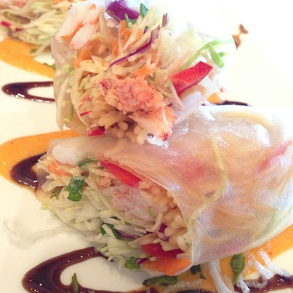 Lobster And Shrimp Spring Rolls  - Chart House Restaurant - Longboat Key, Longboat Key, FL