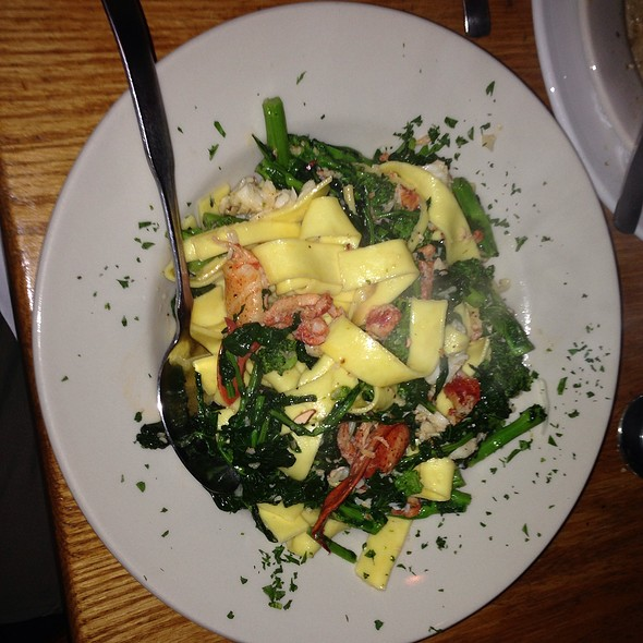 Lobster With Broccoli Rabe - Zia Marie, Virginia Beach, VA