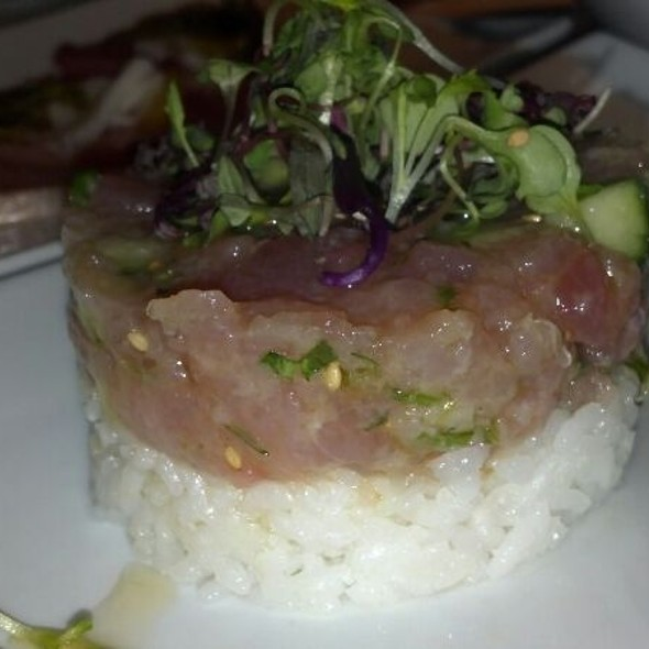 Tuna Poke - Jax Fish House and Oyster Bar- LoDo, Denver, CO