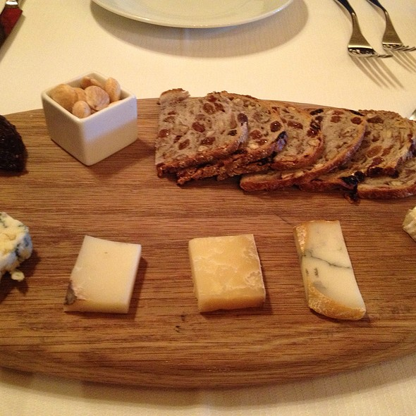 Cheese Tasting - The Mansion Restaurant at Rosewood Mansion on Turtle Creek, Dallas, TX