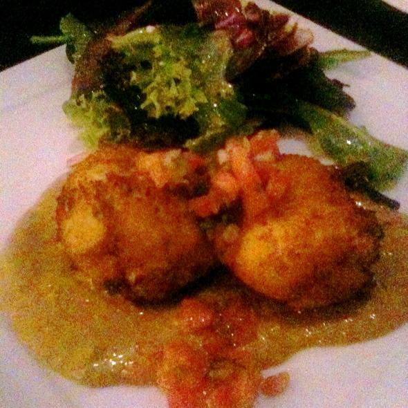 Crab Cakes - Bleu Restaurant & Lounge, Memphis, TN