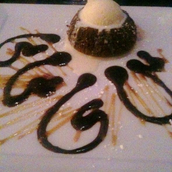 Molten Chocolate Cake - Bleu Restaurant & Lounge, Memphis, TN