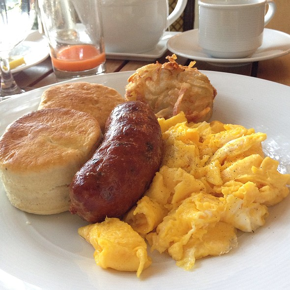 Texas Breakfast - The Mansion Restaurant at Rosewood Mansion on Turtle Creek, Dallas, TX