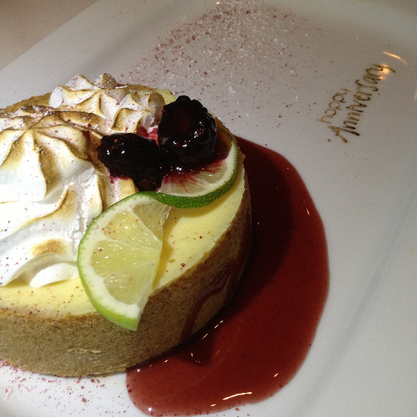 Anniversary dessert - Island Prime, San Diego, CA