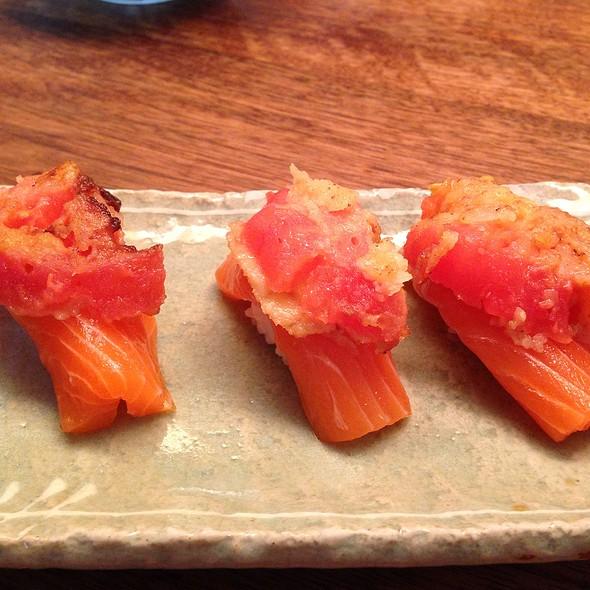 Smoked Salmon With Tomato And Chilli Chutney - Sushi of Gari - Columbus Avenue, New York, NY