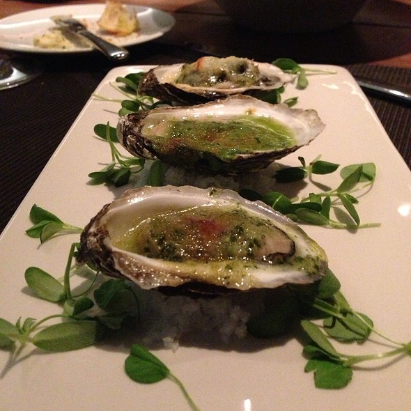 Oysters Rockefeller - Jacobs & Co. Steakhouse, Toronto, ON