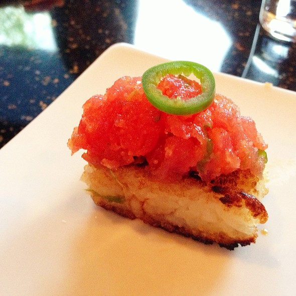 Crispy Rice with Spicy Tuna - Kiwami, Studio City, CA