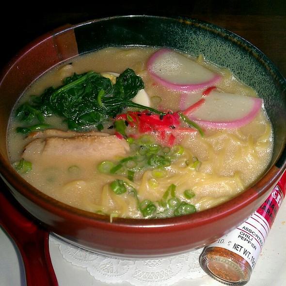 Tonkotsu Ramen - Kubo's Sushi Bar & Grill, Houston, TX