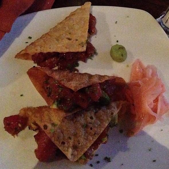 Ahi Poke Tacos - Tommy V's Urban Kitchen, Carlsbad, CA