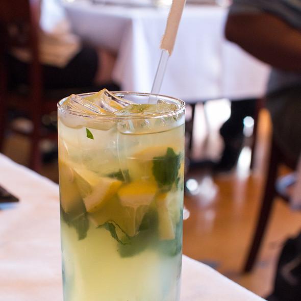 Minty Lemonade - Saffron Indian Bistro, San Carlos, CA