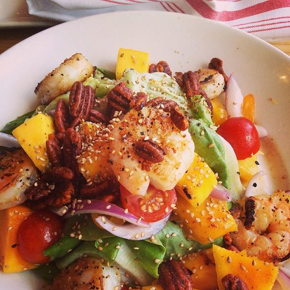 Swank Farm Butter Lettuce & Grilled Mango Salad - Yardbird Southern Table & Bar, Miami Beach, FL