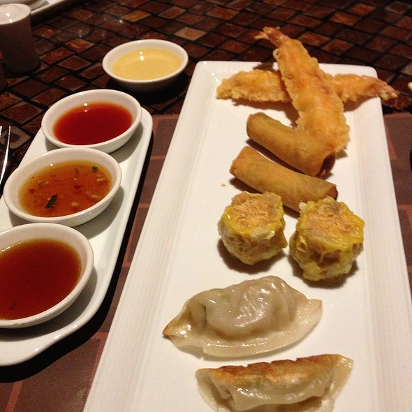 Appetizer Sampler - Hong Kong Cafe, Las Vegas, NV