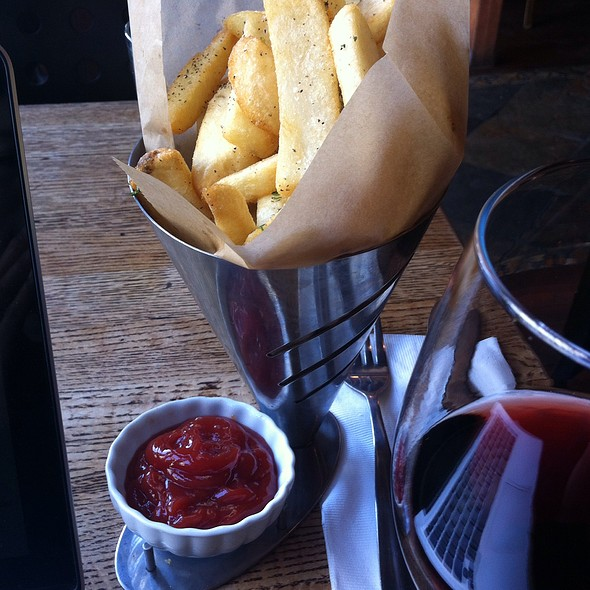Garlic Potato Fries - Dunya, San Francisco, CA