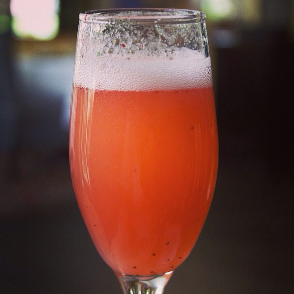 Strawberry Mimosa - 660 at The Anglers, Miami Beach, FL