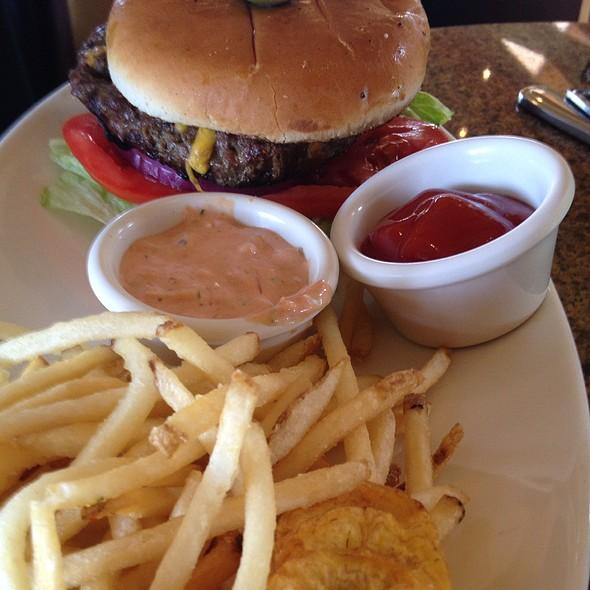 Hamburger - Chart House Restaurant - Cardiff, Cardiff, CA