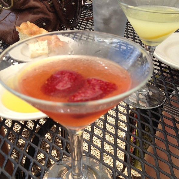 Strawberry Fields Martini - Bottega, Birmingham, AL