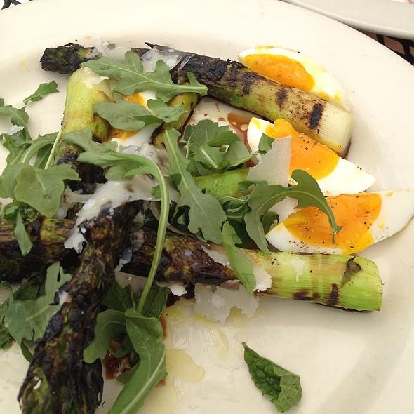 Grilled jumbo asparagus - Bottega, Birmingham, AL