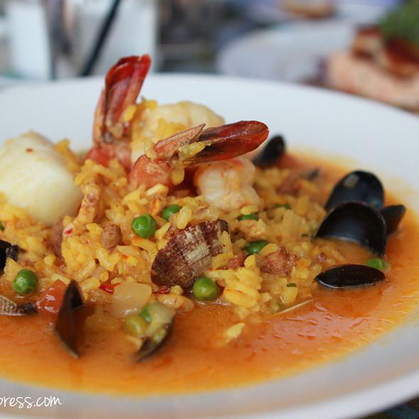 Seafood Paella - Geoffrey's Restaurant, Malibu, CA