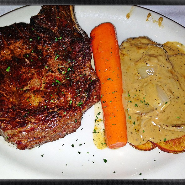 "Prime ""Cote De Boeuf Bone-In Ribeye - Bob's Steak and Chop House - Fort Worth, Fort Worth, TX"