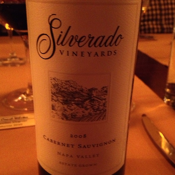 Silverado Cabernet - Sonoma Grille Pittsburgh, Pittsburgh, PA
