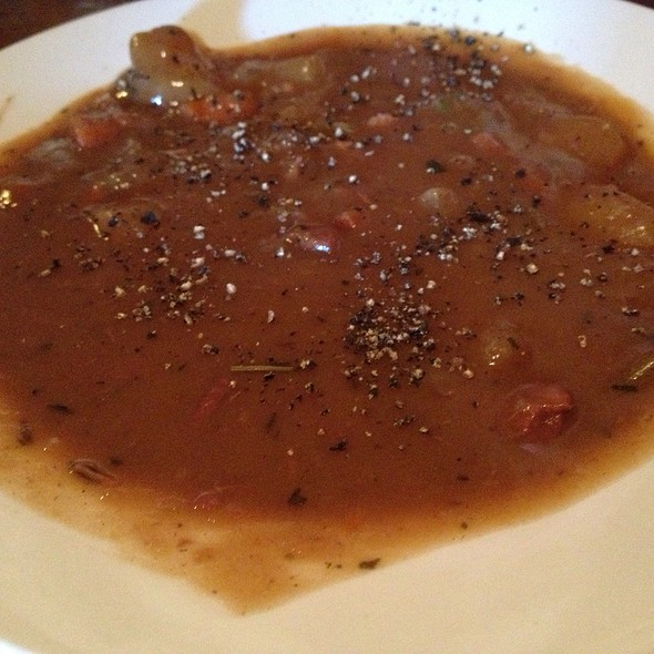 German Potato Soup - Buckhorn Steakhouse, Winters, CA