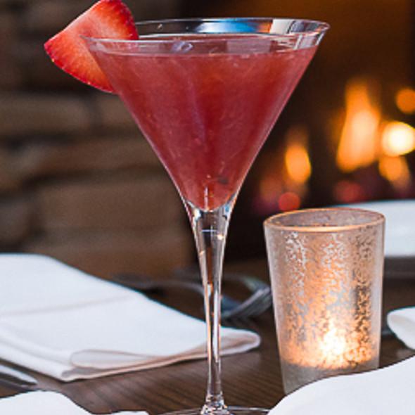 Strawberry-tini - Andiamo Restaurant + Bar, Newburyport, MA