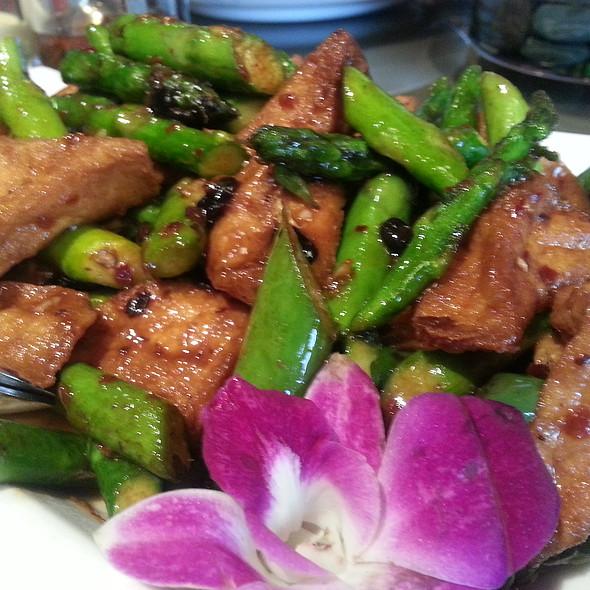 Tofu And Asparagus - Frank Fat's, Sacramento, CA