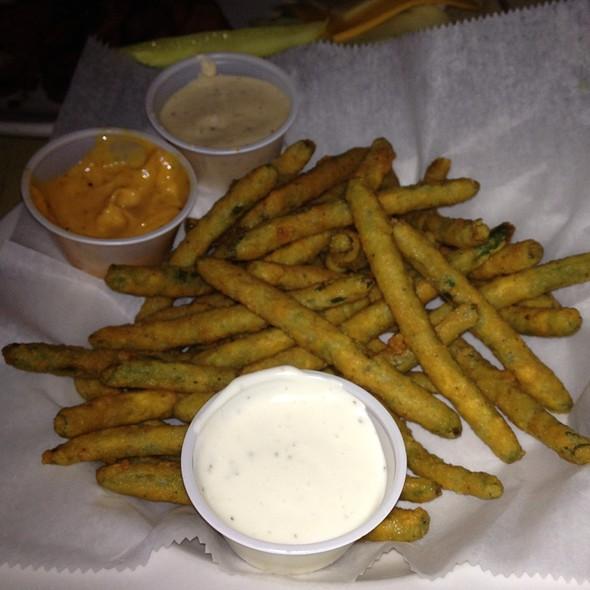 Fried Green Beans - Puckett's Historic Downtown Franklin, Franklin, TN