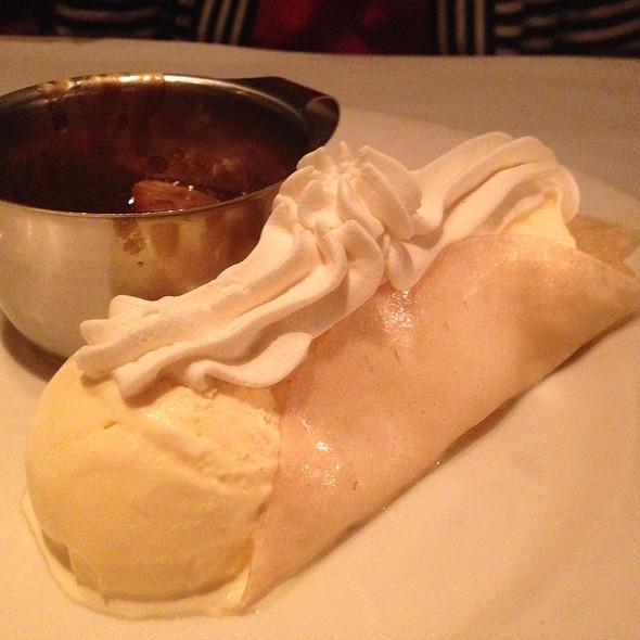 Bananas Foster Crepes - Pete Miller's Seafood and Prime Steak - Evanston, Evanston, IL