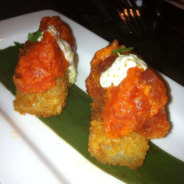 spicy tuna crispy rice - Tokio Pub, Schaumburg, IL