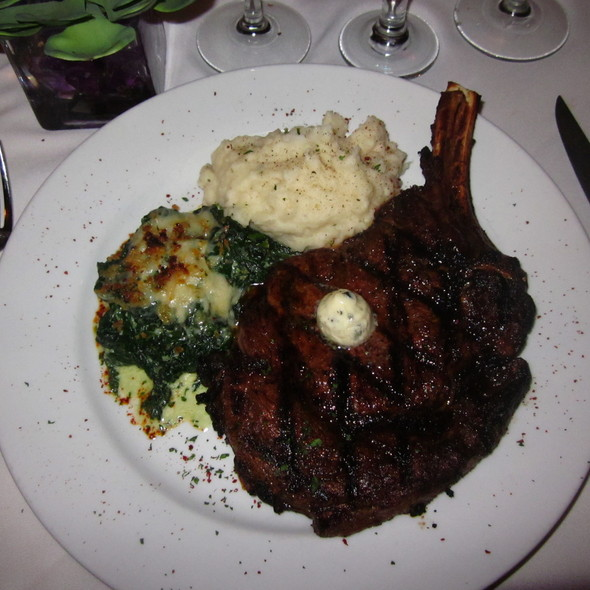 Rib Eye Steak  - Bistro 44, Northport, NY