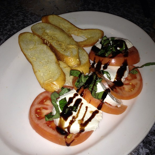 Tomatoes with fresh mozzarella, basil and balsamic glaze - The Long Valley Pub & Brewery, Long Valley, NJ