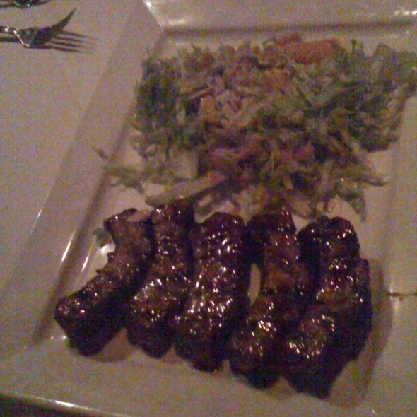 Hawaiian-style Baby Back Ribs - Larsen's Steakhouse, Encino, CA