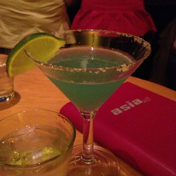 Blue Margarita With Cuervo Gold - AsiaSF, San Francisco, CA