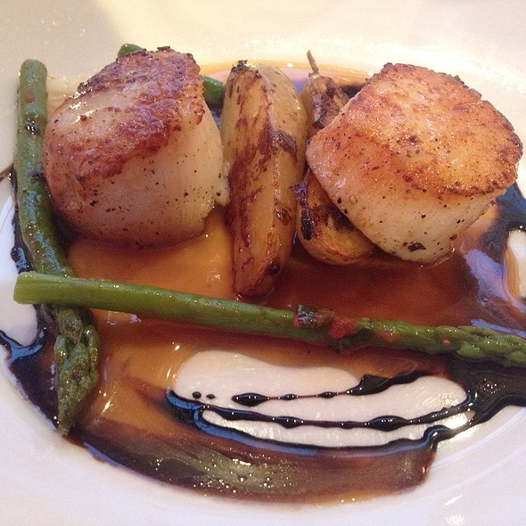 Seared Sea Scallops - Bistro St. Tropez, Philadelphia, PA