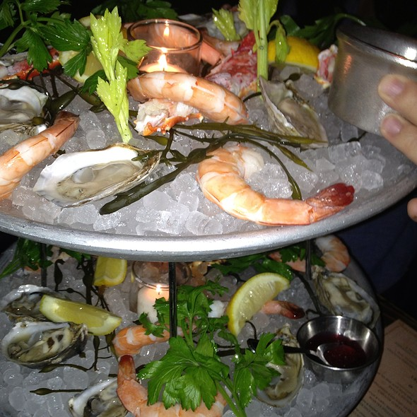 Seafood Tower - Maude's Liquor Bar, Chicago, IL
