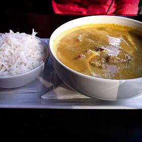 Yellow Coconut Curry - The Pot Au Feu, El Paso, TX