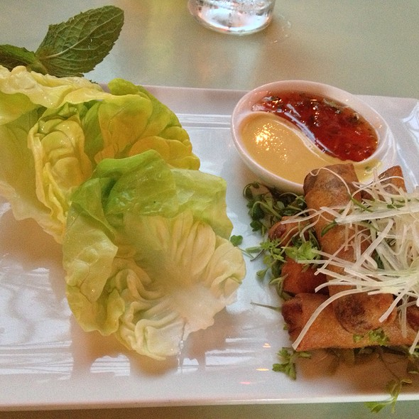 Duck Spring Rolls - Chinois on Main, Santa Monica, CA