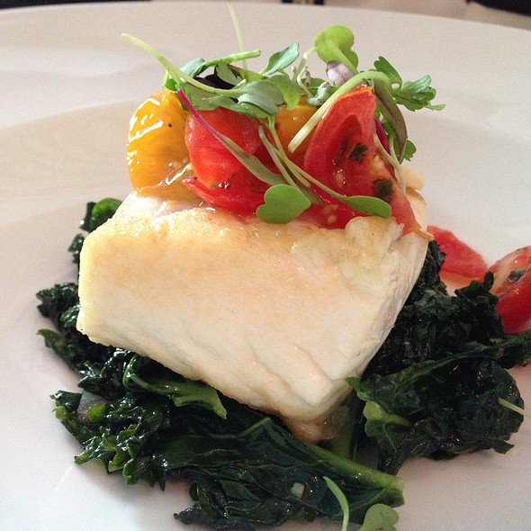 Halibut - Il Cielo Gardens Restaurant & Bar, Beverly Hills, CA