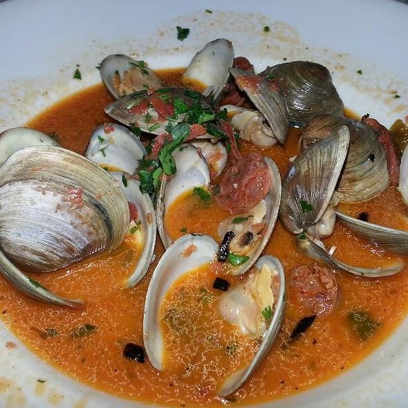 Sopelo Clams With Chorizo - C&S Seafood & Oyster Bar, Atlanta, GA
